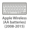 Apple Wireless (AA batteries) (2008-2015)
