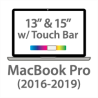 "MacBook Pro w/Touch Bar - 13"" & 15"" - (2016-2019)"